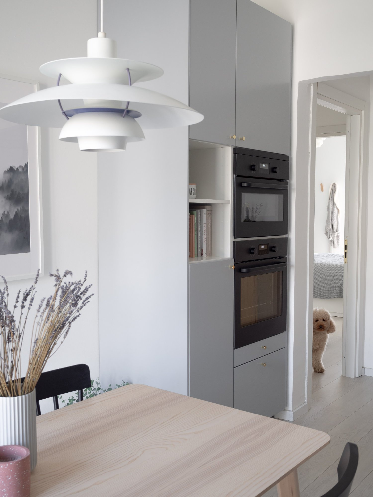 That Scandinavian Feeling Home Tour kitchen dog