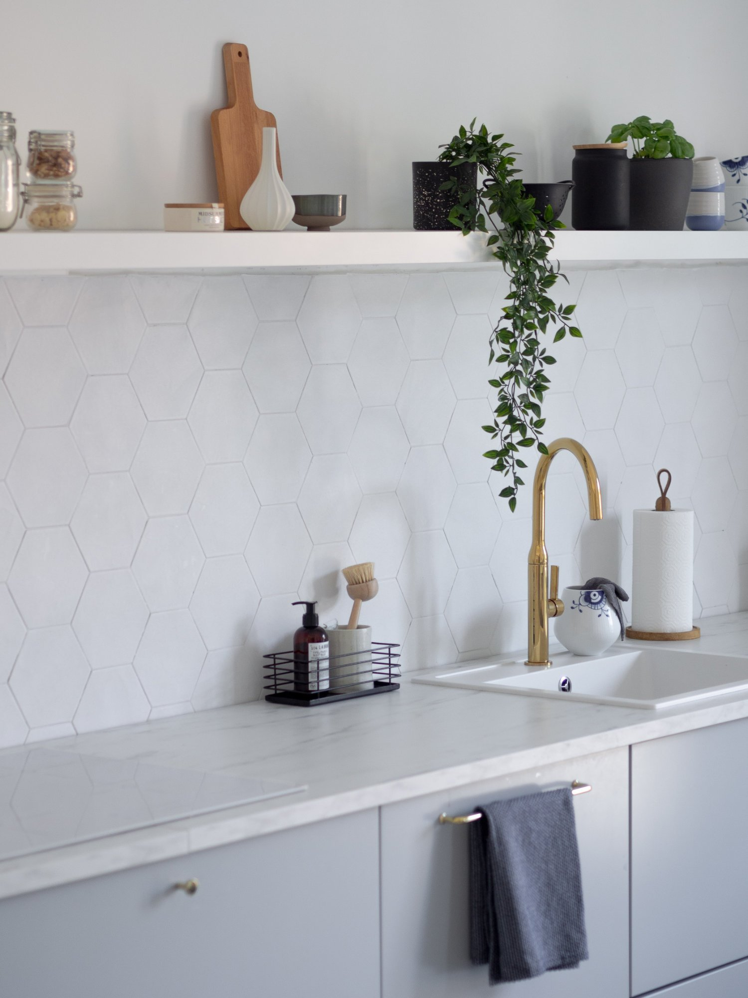 That Scandinavian Feeling Home Tour kitchen sink