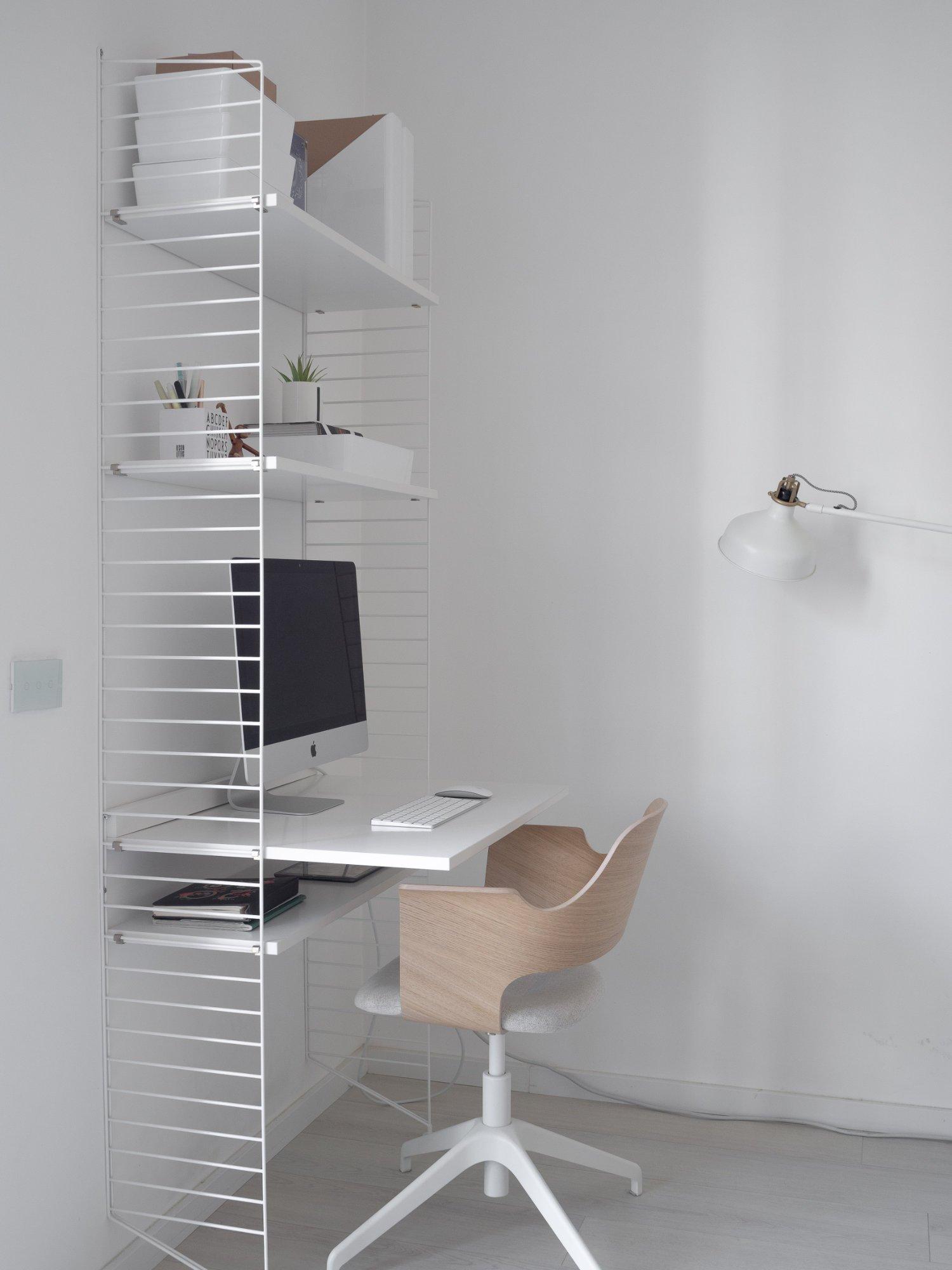 That Scandinavian Feeling Home Tour livingroom desk