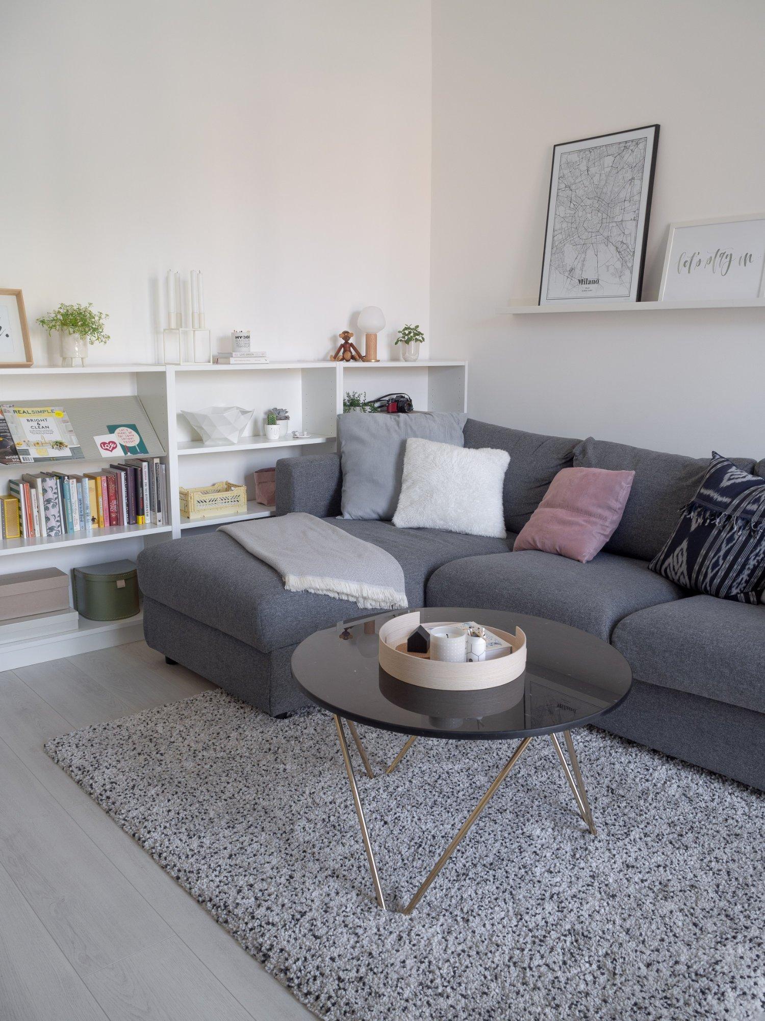 That Scandinavian Feeling Home Tour livingroom sofa