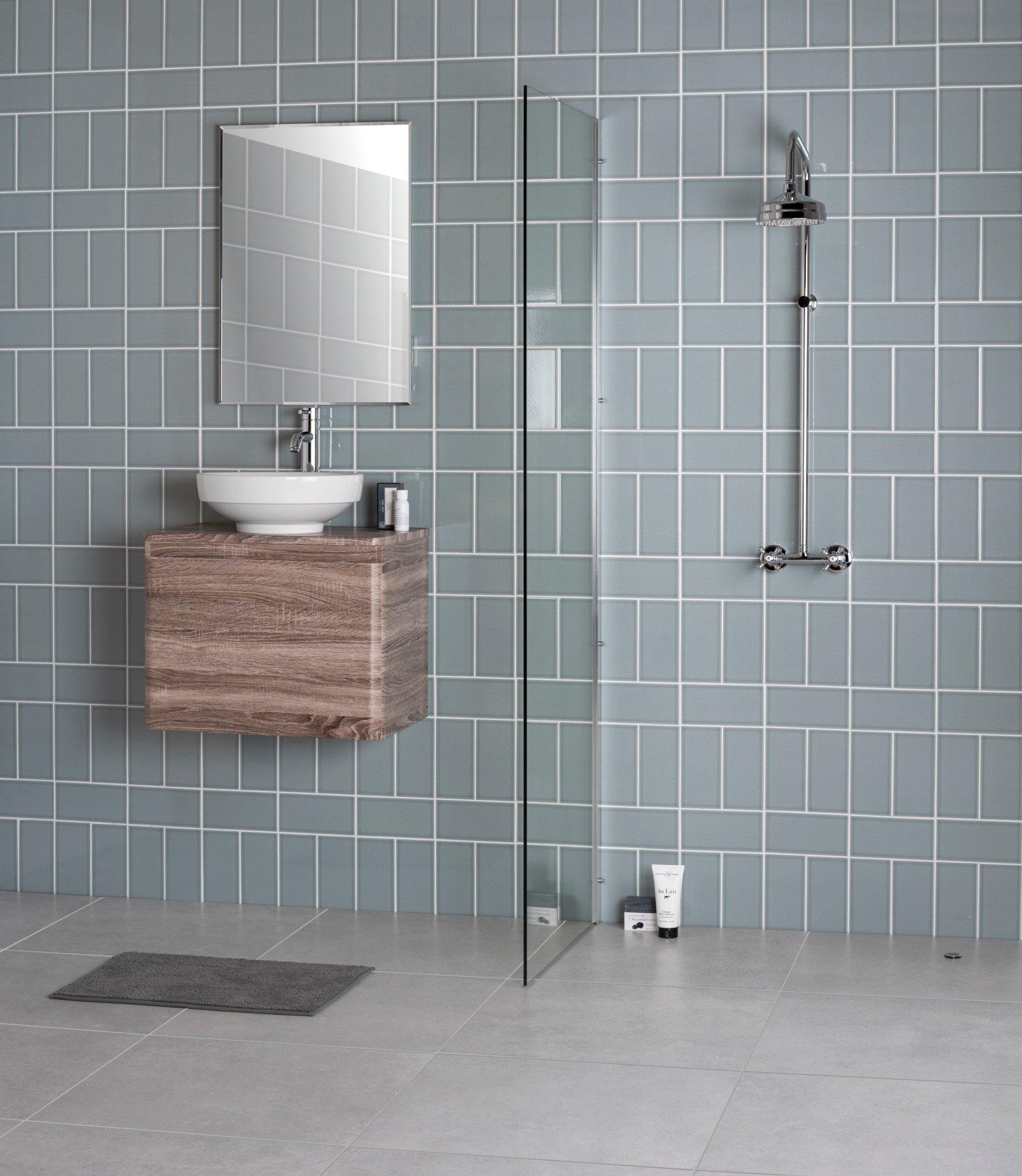 Walls and Floors Ltd Craquelure Steel Tiles Bathroom 5709416 1