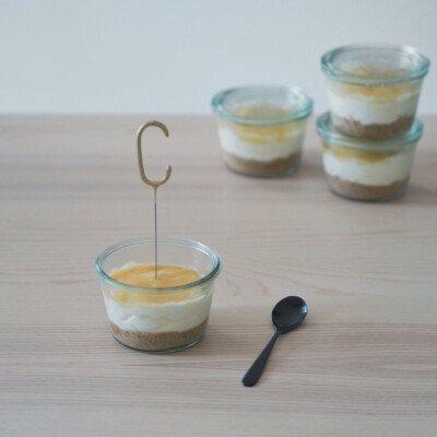 lemon cheesecake mini birthday