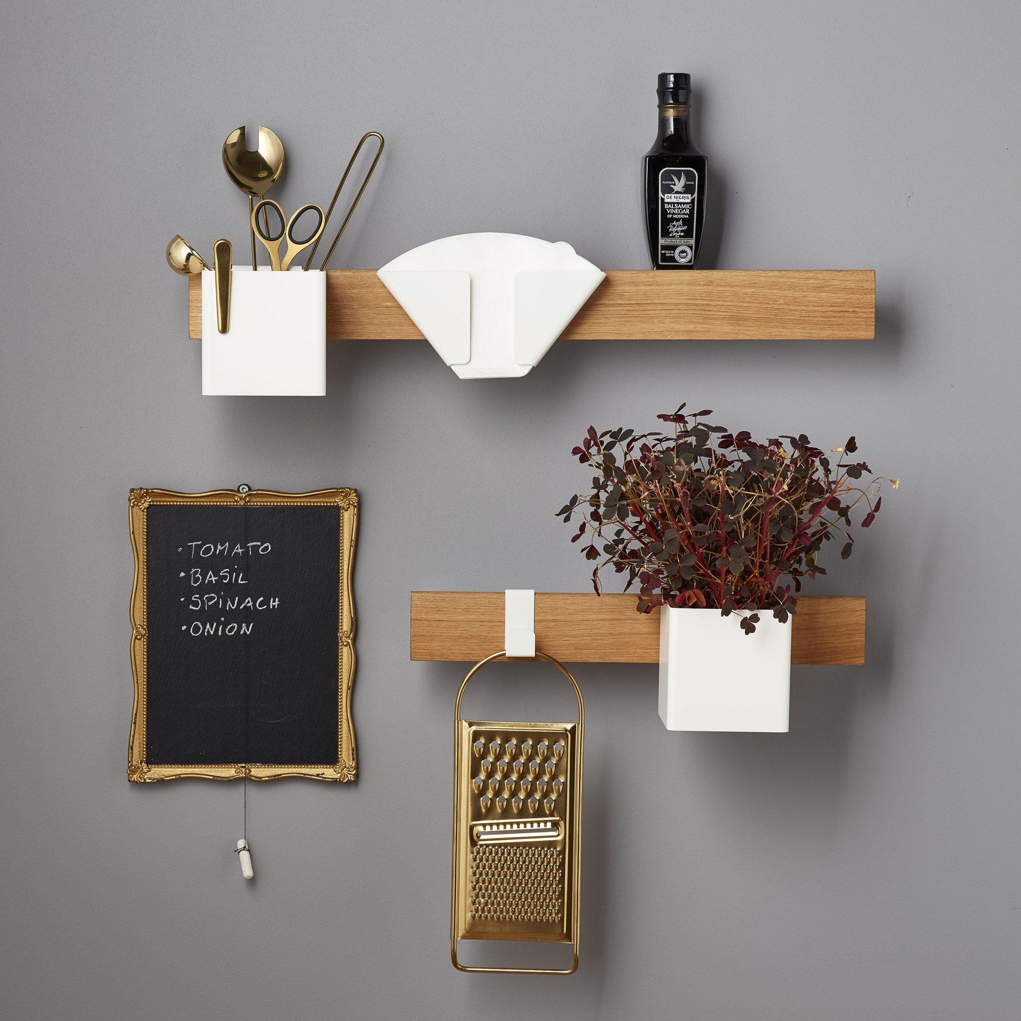 scandinavianfeeling coffee filter holder shelf