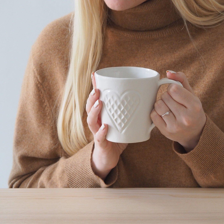 scandinavianfeeling coffee mug waffles