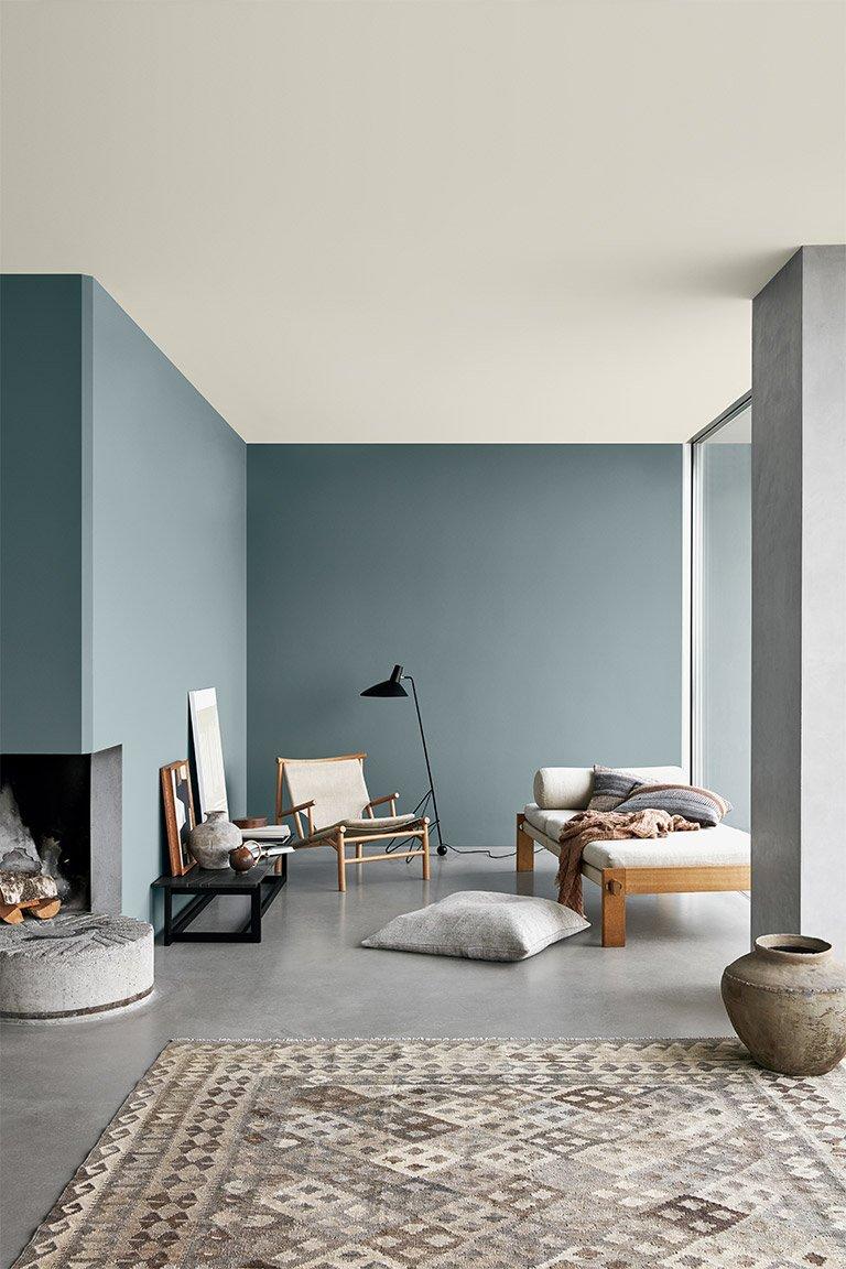 scandinavian interior colour trend 2021 blue tones