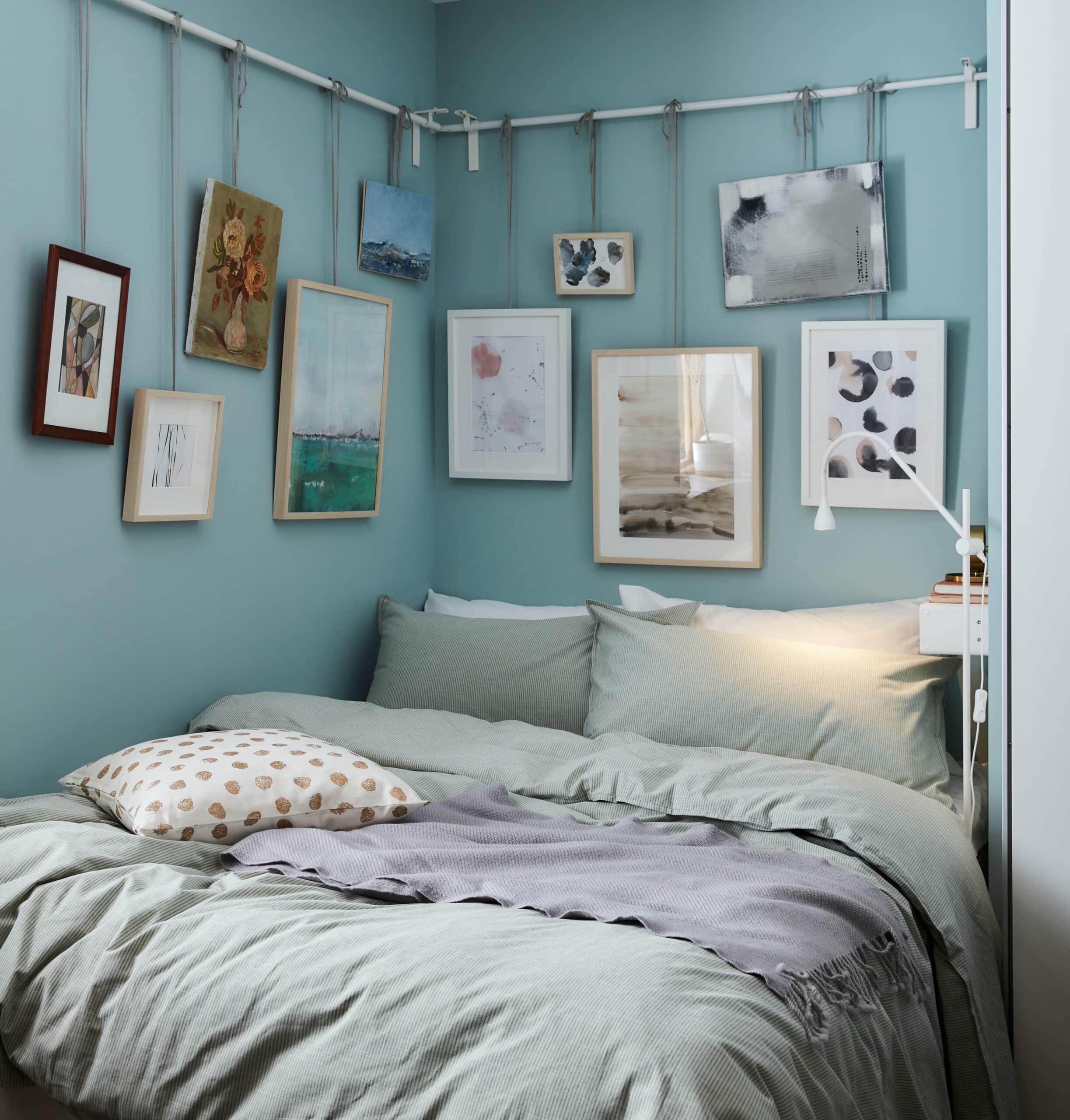 scandinavian-interior-decor-tips-ikea-bedroom-wall-art-hanging
