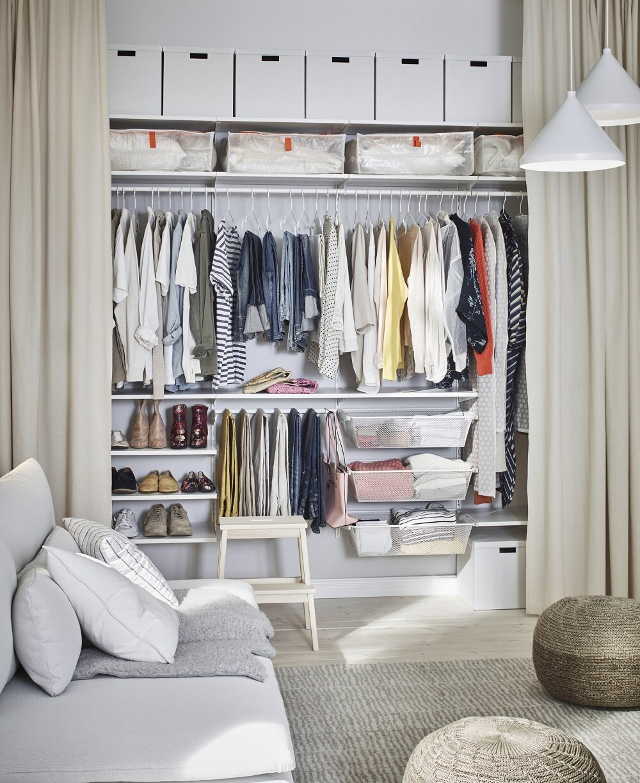 scandinavian-interior-decor-tips-ikea-wardrobe-curtains