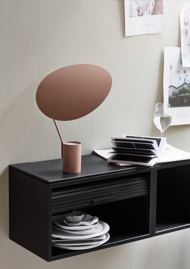 scandinavian feeling table lamp ombre northern