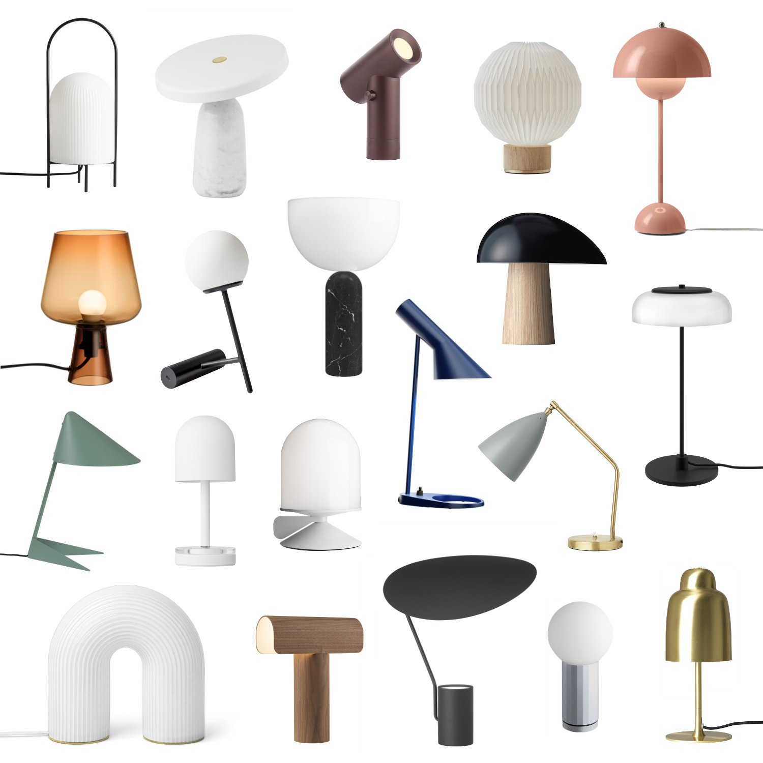 scandinavian feeling table lamps design best
