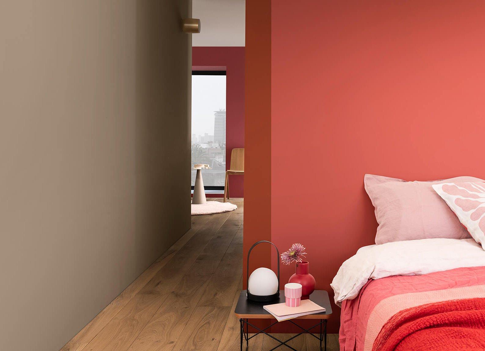 brave ground dulux colour year 2021 interior cozy bedroom
