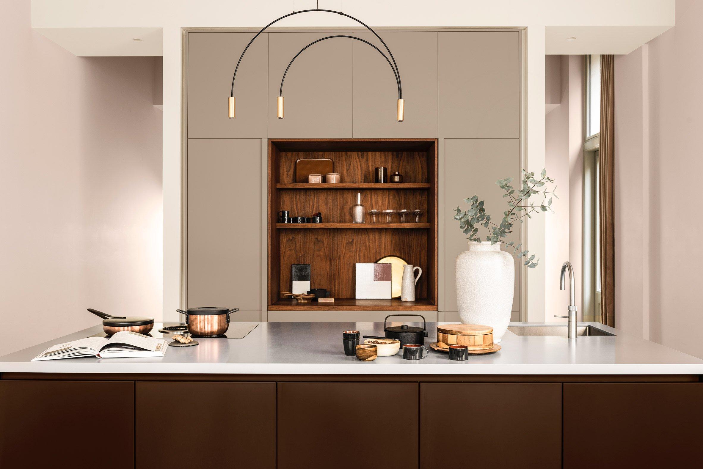 brave ground dulux colour year 2021 interior cozy kitchen