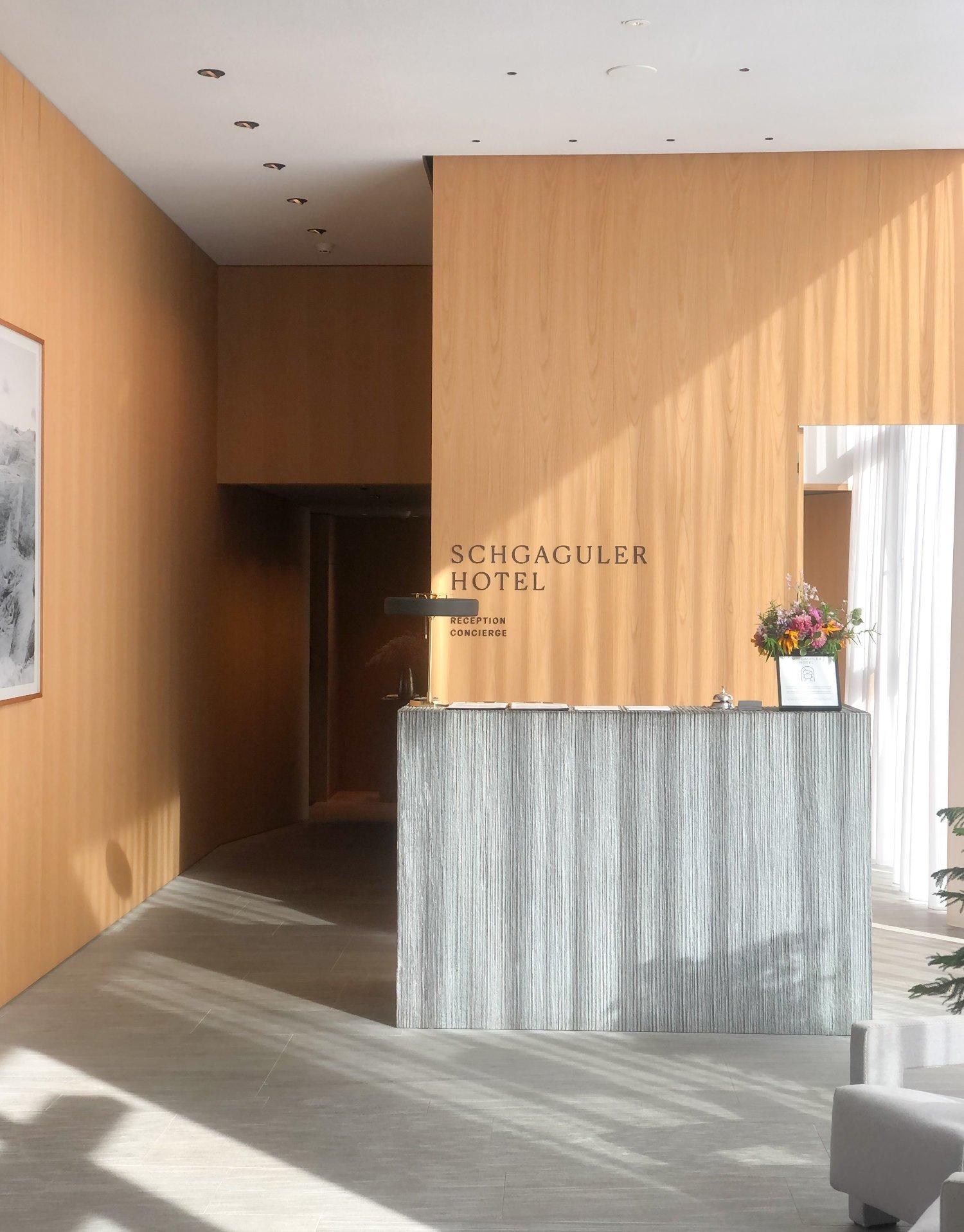 scandinavian design hotel dolomites italy reception