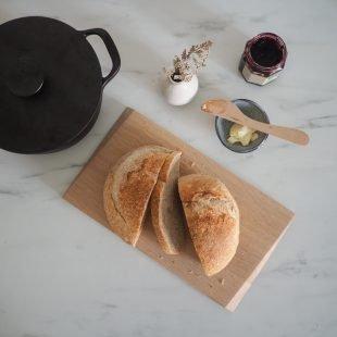 bread baking hygge home
