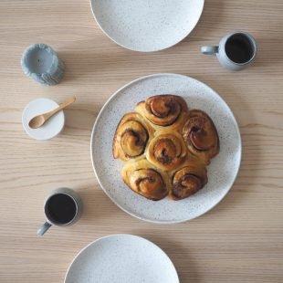 cinnamon buns home hygge baking