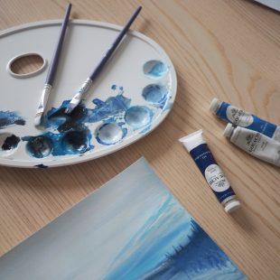 scandinavian feeling home painting cozy hygge