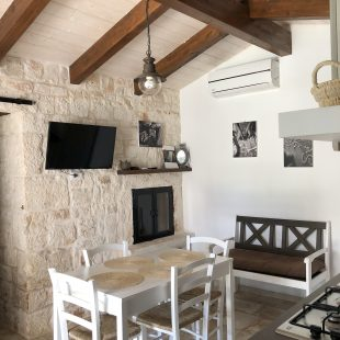 scandinavian feeling trullo puglia italy interior kitchen