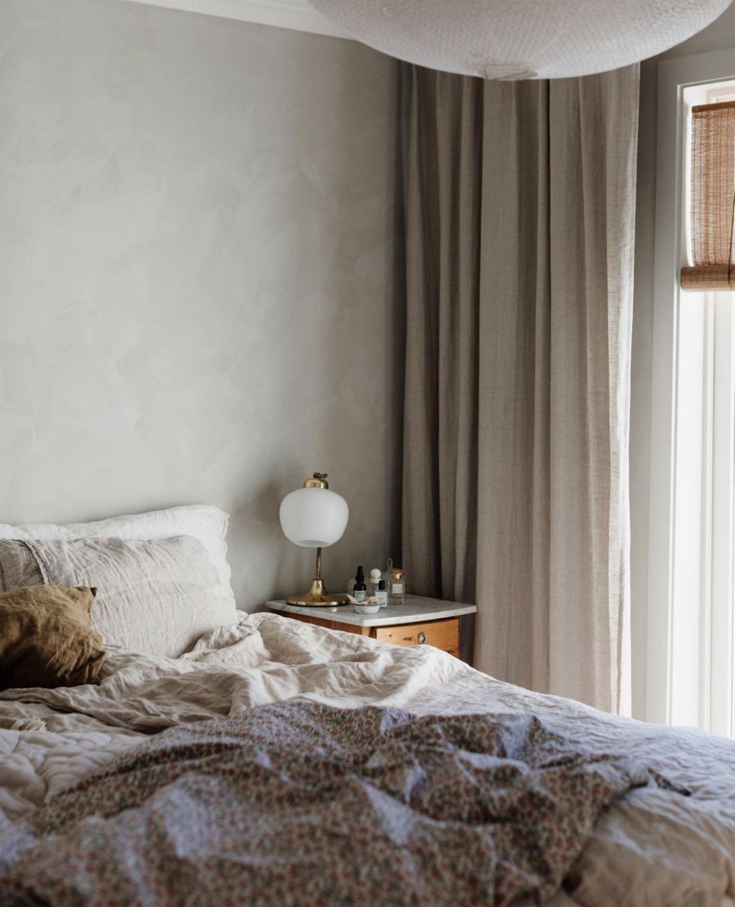 scandinavian feeling bedroom cozy hygge bed 2