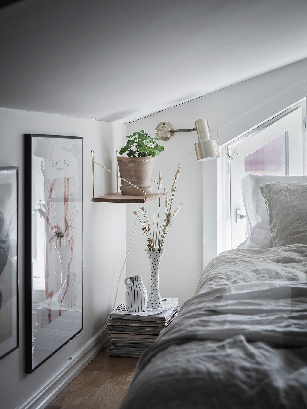 scandinavian feeling bedroom cozy hygge nook 2
