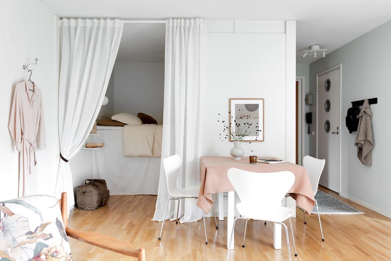 scandinavian feeling bedroom cozy hygge wall 1