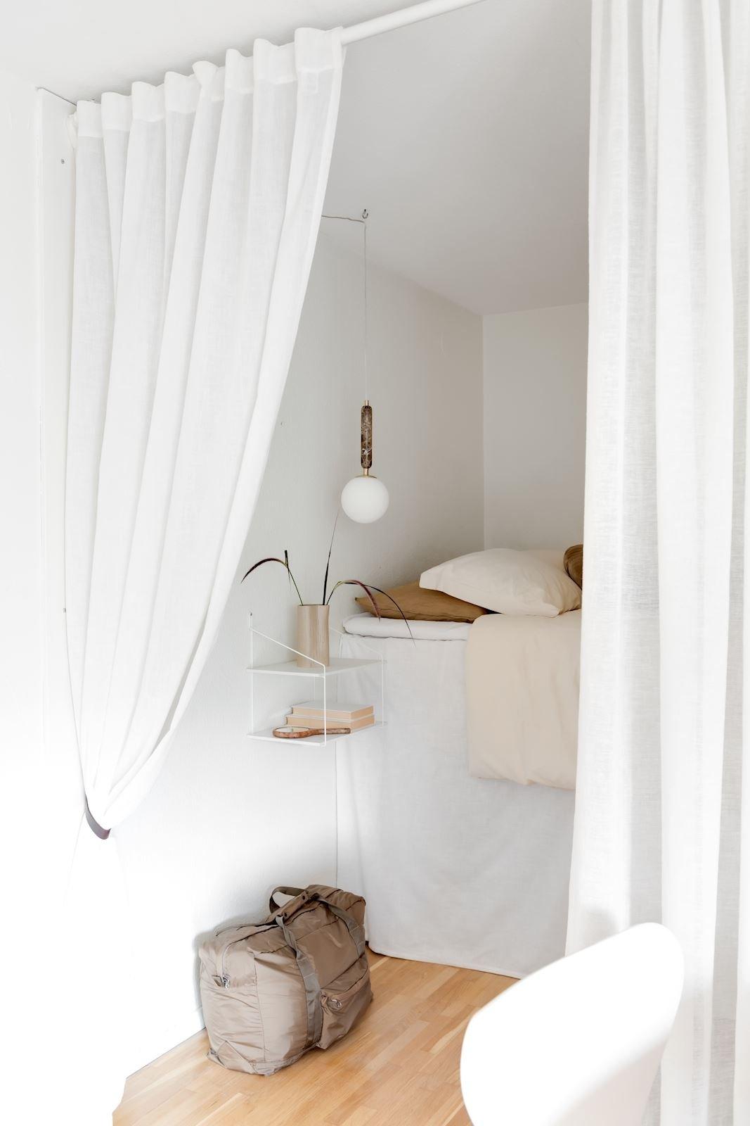 scandinavian feeling bedroom cozy hygge wall 2