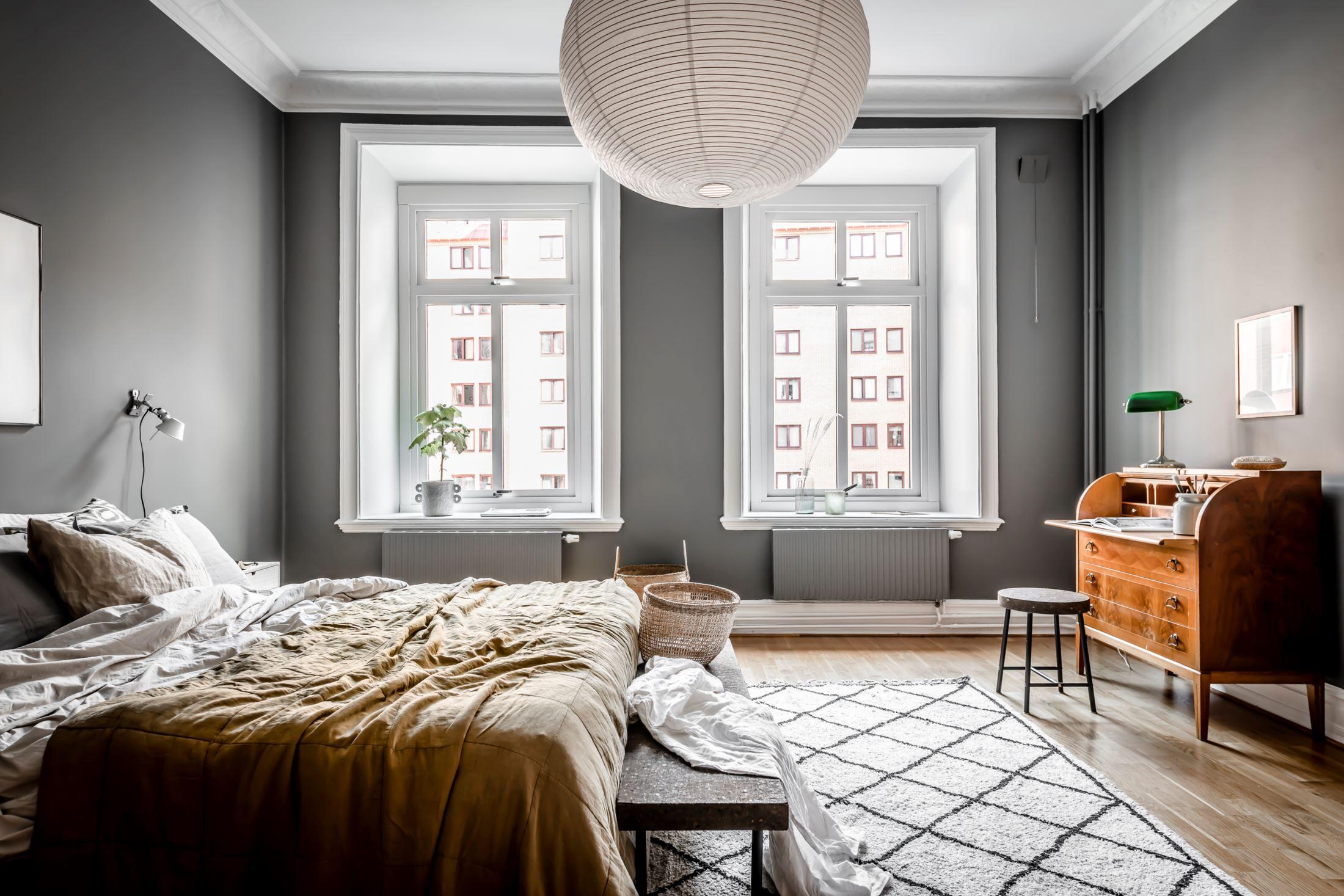 scandinavian feeling cozy bedroom hygge dark 4