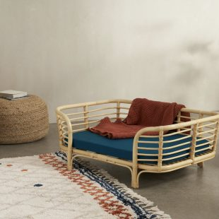 that scandinavian feeling pet furniture nordic bed rattan 1