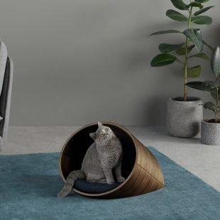 that scandinavian feeling pet furniture nordic round bed 1