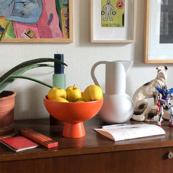 scandinavian feeling interior trend colourful decor bowl