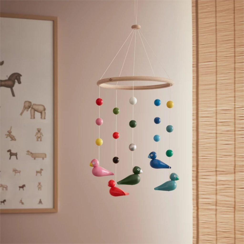 scandinavian feeling interior trend colourful decor mobile