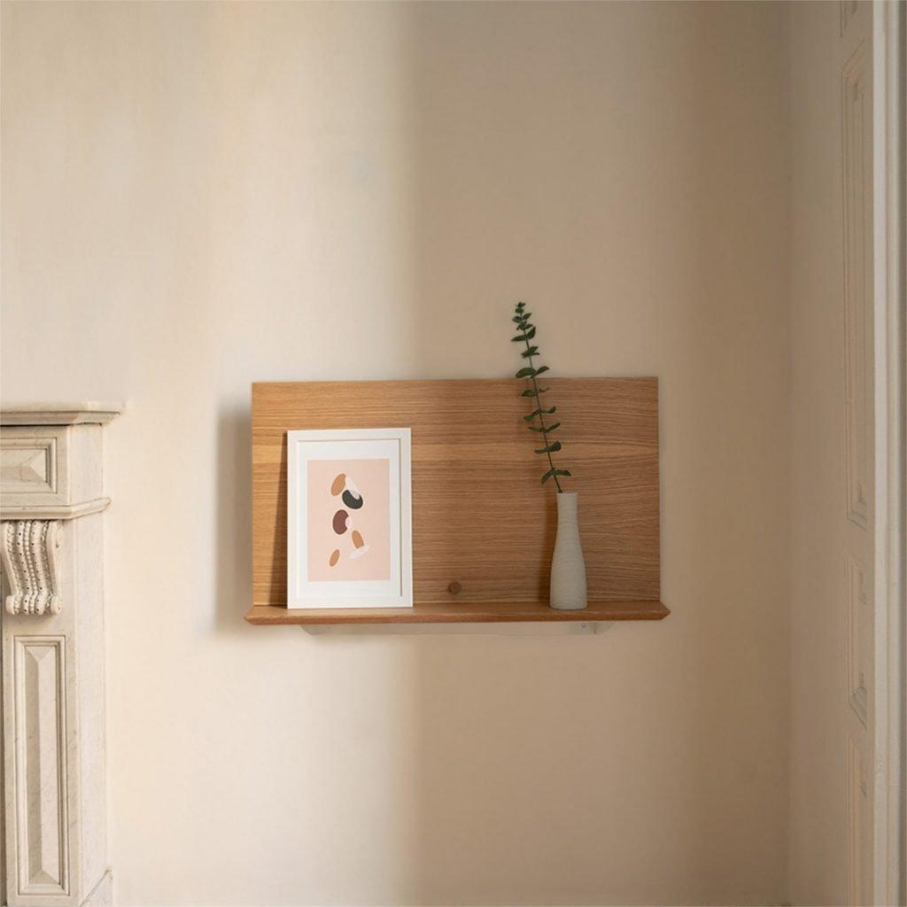 scandinavian feeling minimal desk design Alada Woodendot 2