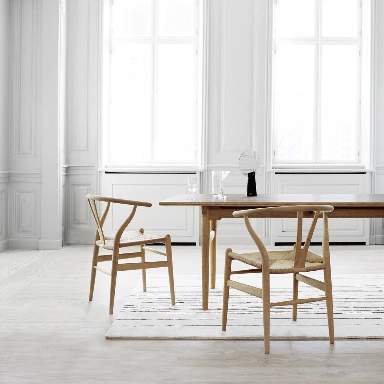 Scandinavian feeling best dining chair Carl Hansen CH24 Wishbone