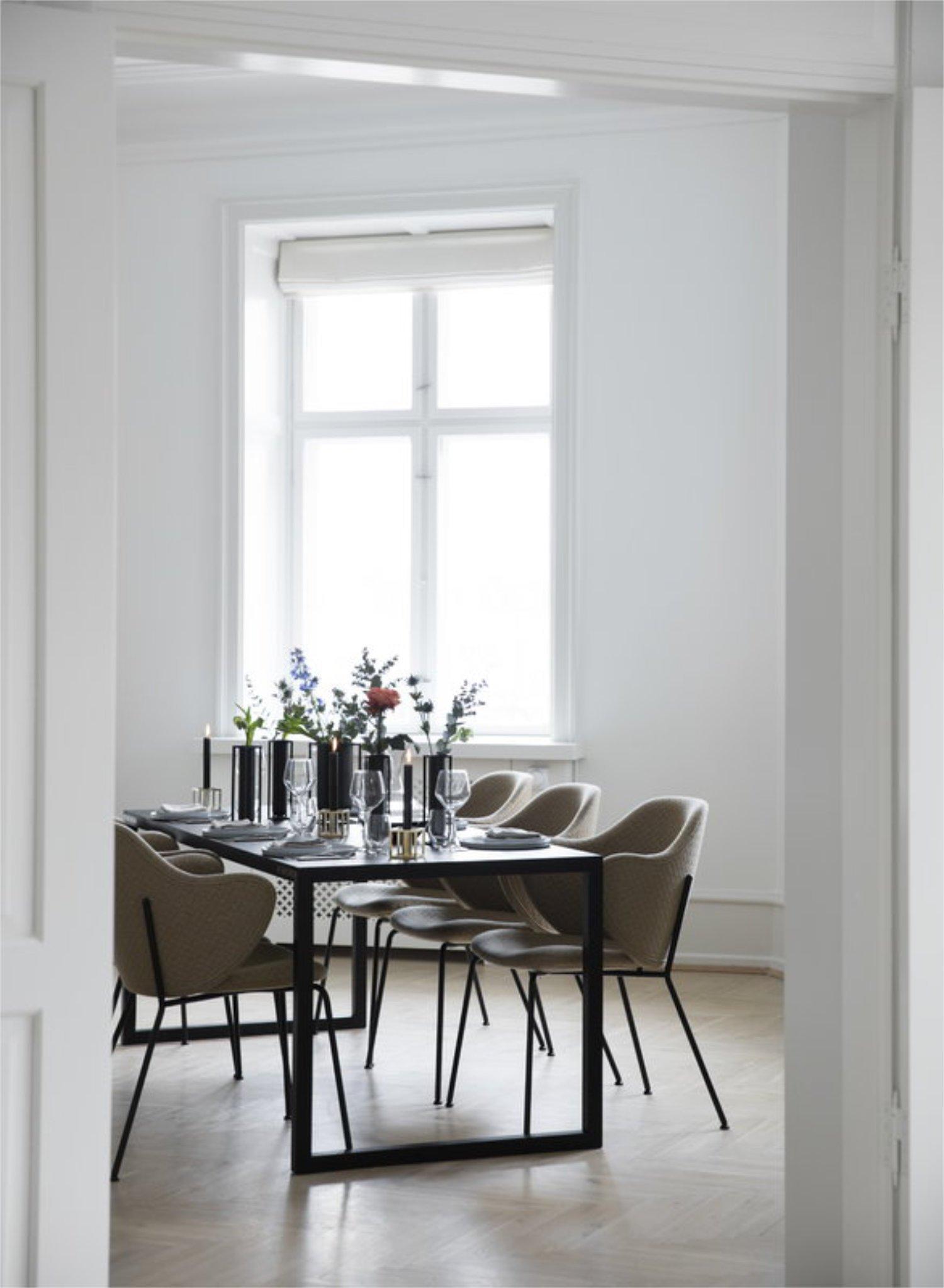 Scandinavian feeling best dining chair bylassen lassen