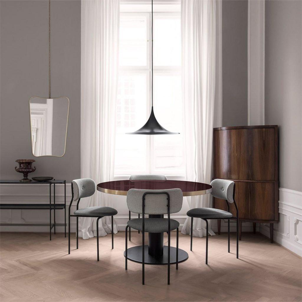 Scandinavian feeling best dining chair gubi coco