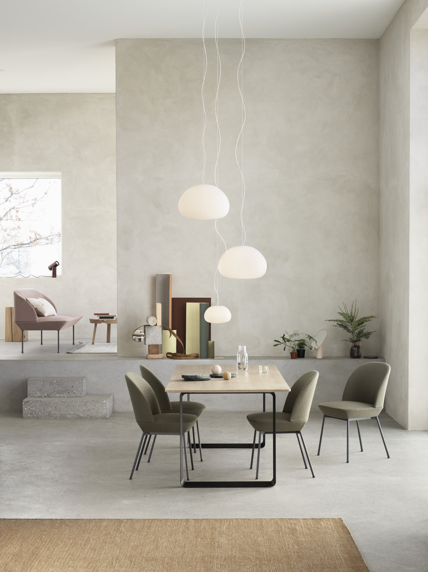 Scandinavian feeling best dining chair oslo muuto