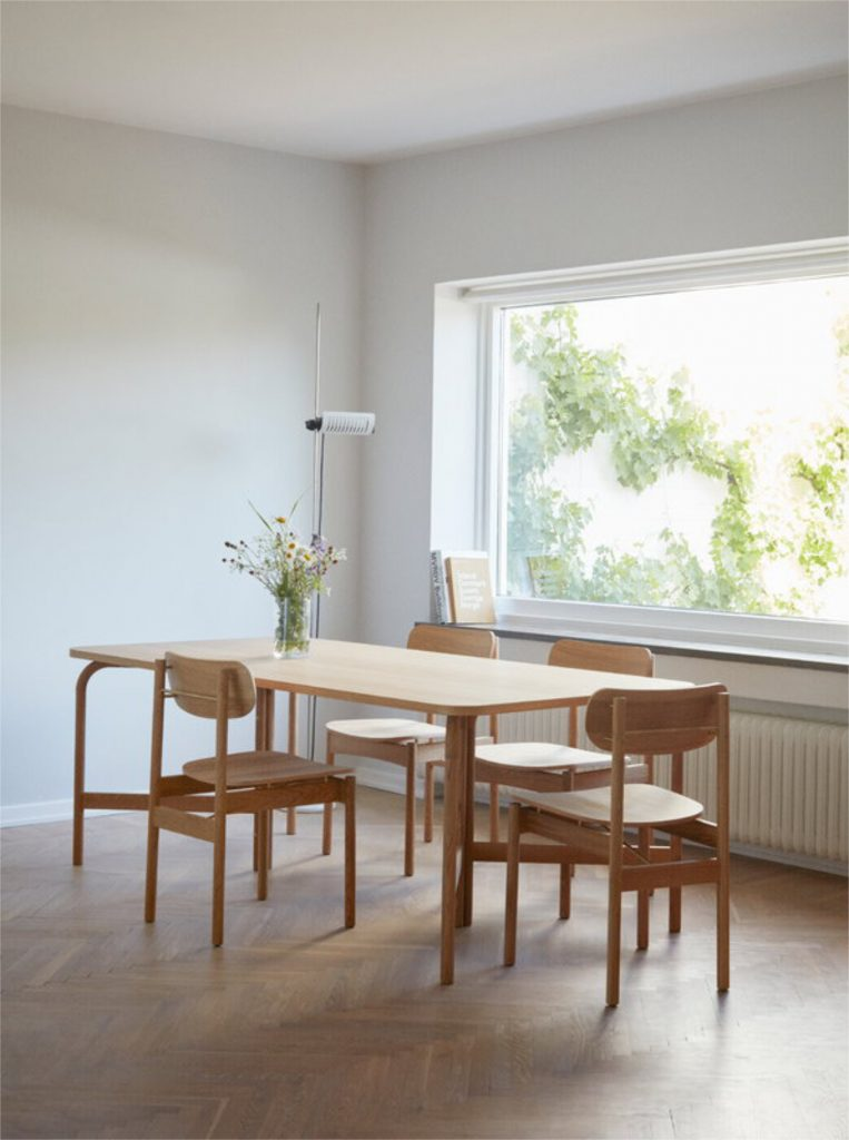 Scandinavian feeling best dining chair skagerak vester