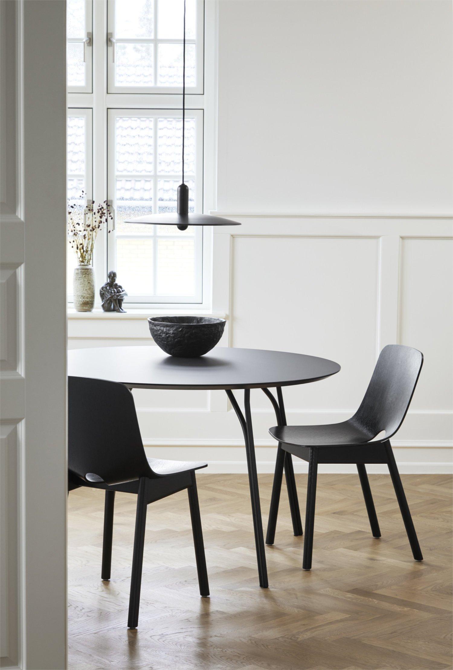Scandinavian feeling best dining chair woud mono