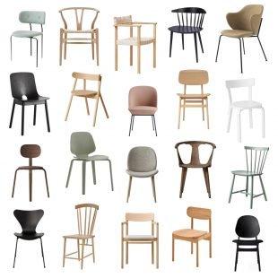 best scandinavian design dining chairs