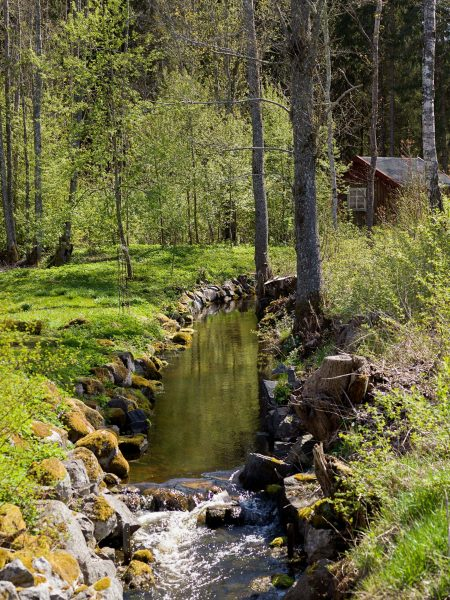 scandinavian feeling idyllic swedish cottage outside 2