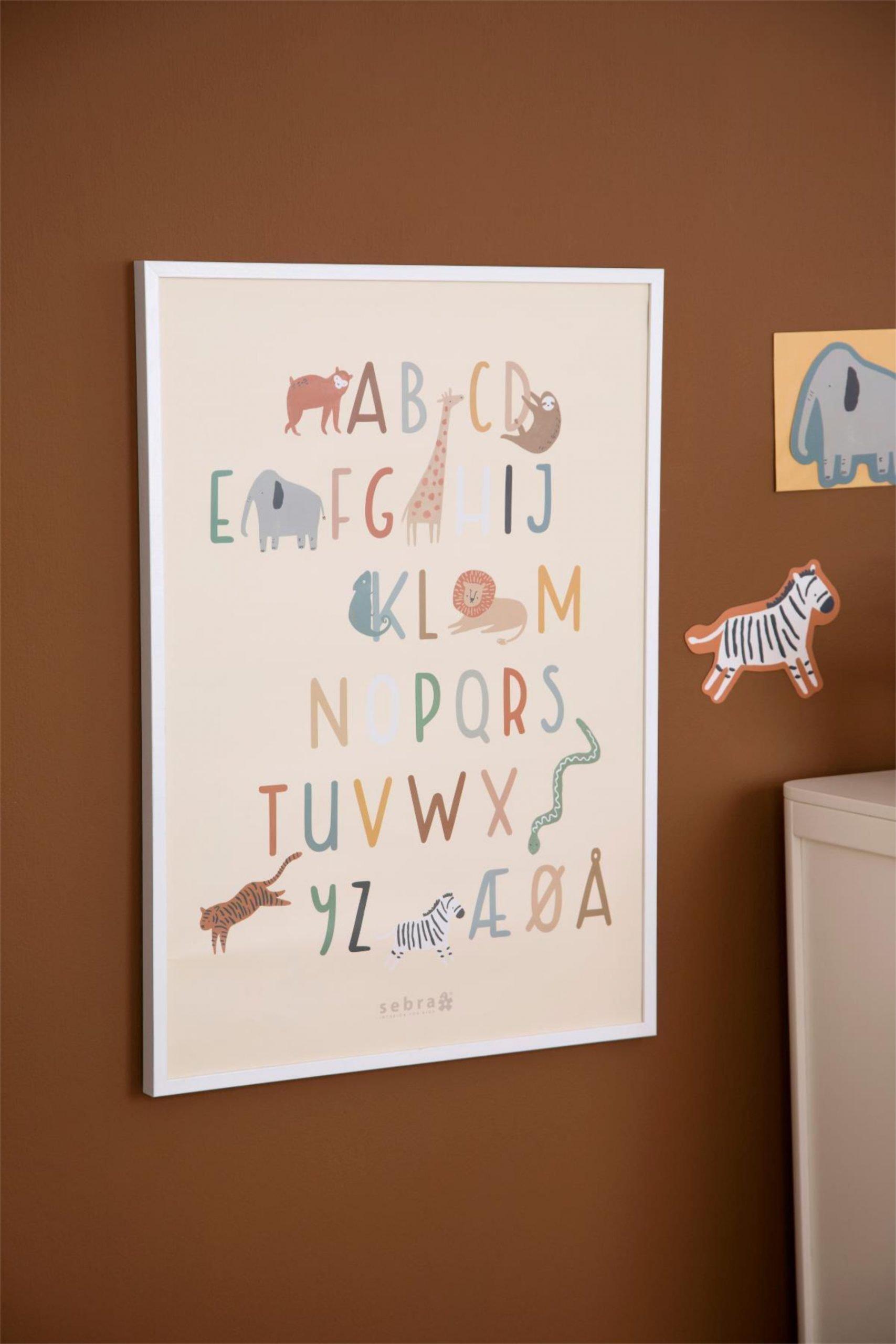 scandinavian feeling nursery decor kids animal poster wall scaled
