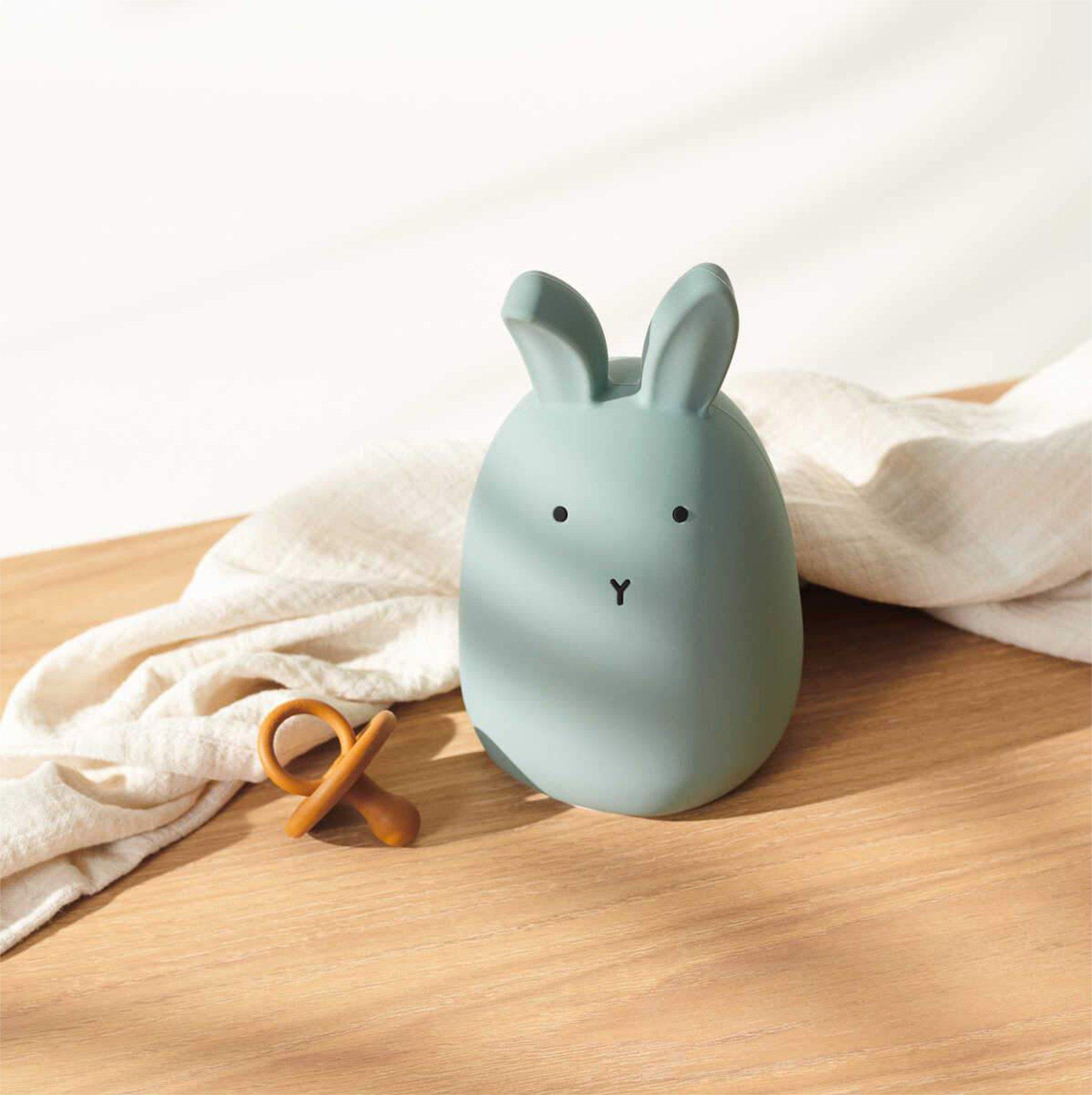 scandinavian feeling nursery decor kids rabbit lamp