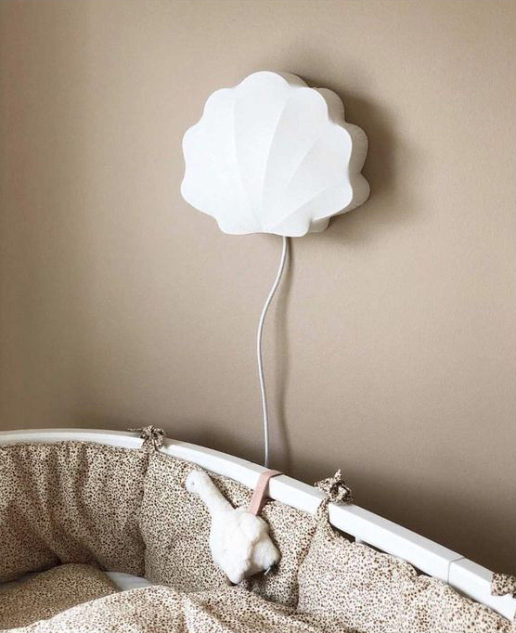 scandinavian feeling nursery decor kids wall lamp