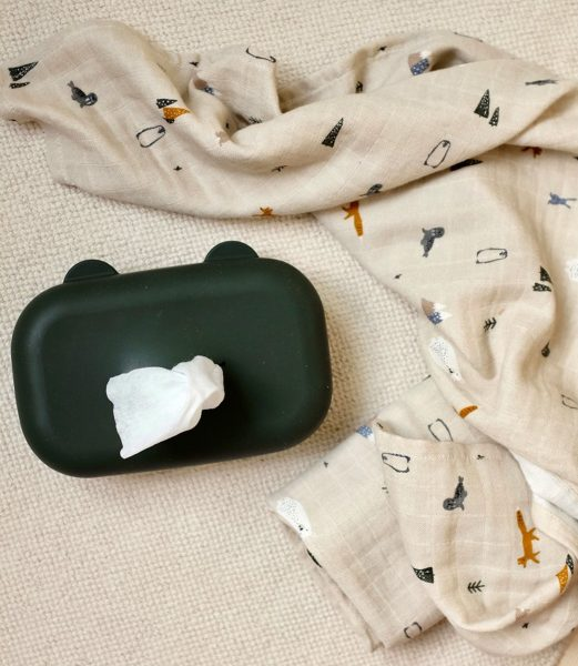 scandinavian feeling nursery decor kids wipe cover